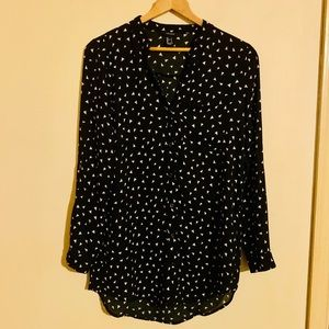 Women's Forever 21 Button-Down Blouse